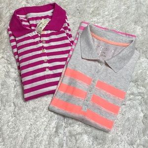 Lot of 2 NEW Aeropostale Polo Shirts Sz XL